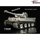 HengLong 1:8 Full Metall RC Tiger I